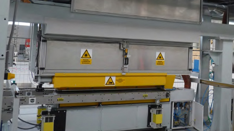 Overall reconstruction of the Laser Welding Line